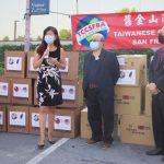San Francisco Bay Area Taiwan Chamber of Commerce donates 30,000 Fremont masks